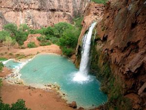 Havasu Canyon Falls