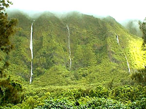Hidden Waterfalls Oahu