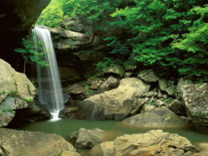 Cumberland Falls State Park - Eagle Creek Falls