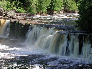 Porcupine Mountains - Manabezho Falls