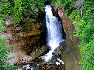 Porcupine Mountains - Miners Falls