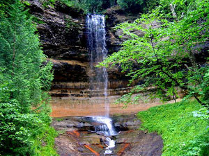 Porcupine Mountains - Munising Falls