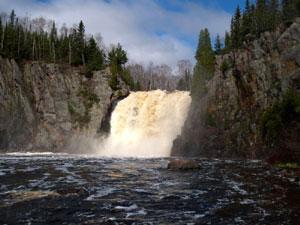 Baptism Falls Tette Gouche State Park