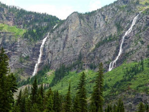 Glacier National Park - Monument Falls