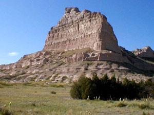 Scotts Bluff National Historic Monument