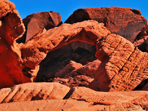 Valley Of Fire State Park - natural arch