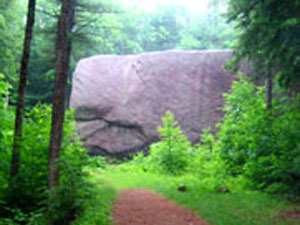 Madison Boulder - White Mountain National Forest