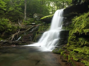 Catskill Mountains - Diamond Notch Falls