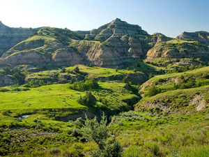 Theodore Roosevelt National Park - Badlands