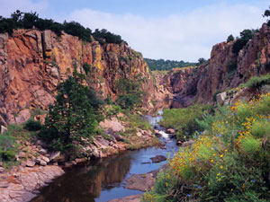 Wichita Mountains Wildlife Preserve - Wichita Canyon