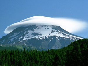 Mount Hood - unusual cloud
