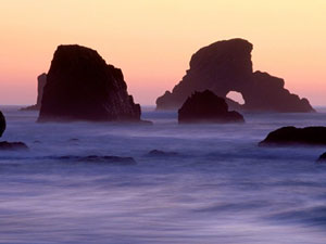 Sea Stacks - Ecola State Park