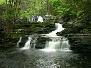 Delaware Water Gap National Recreation Area - Factory Falls