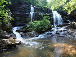 Long Creek Falls - Sumter National Forest