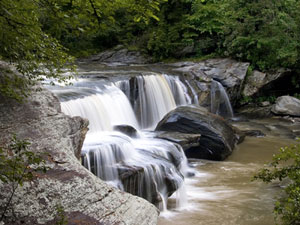 Riley-Moore Falls - Sumter National Forest