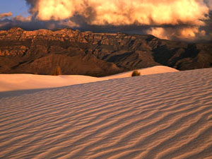 Guadalupe Mountains National Park - gypsum dunes