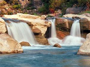 Perdenales River Falls