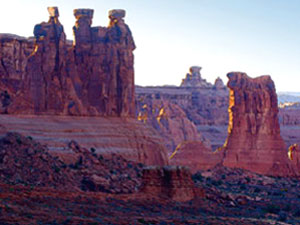 Three Gossips - Arches National Park