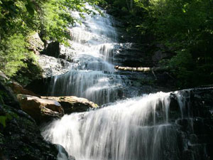 Lye Brook Falls - Green Mountain National Forest