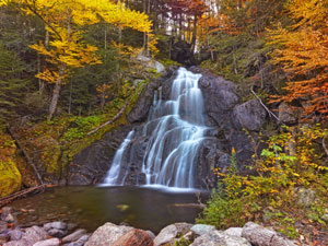 Moss Glen Falls - Green Mountain National Forest