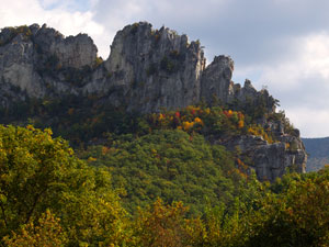 Monongahela National Forest - Seneca Rocks