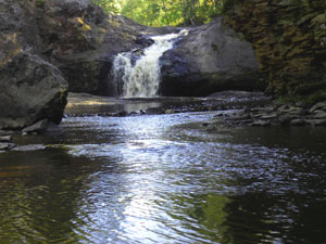 Amnicon Upper Falls