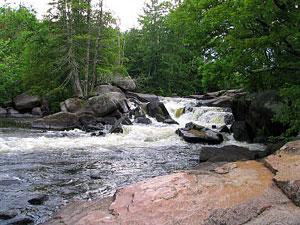 Peshtigo River - Strong Falls