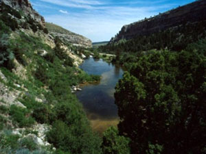 Sinks Canyon State Park