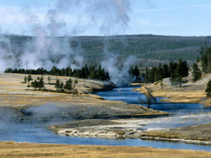 Yellowstone National Park - Geysers
