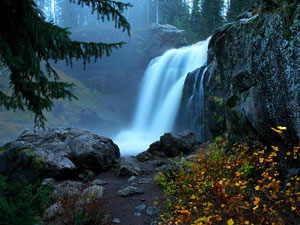 Yellowstone National Park - Moose Falls