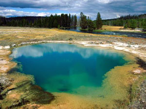 Yellowstone National Park - Morning Glory Pool