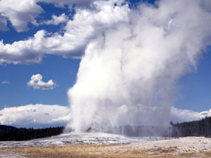Yellowstone National Park - Old Faithful
