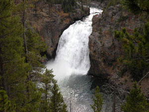 Yellowstone National Park - Upper Falls Yellowstone River